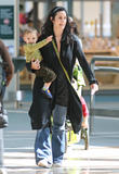 Carrie-Anne Moss with Her Son @ Vancouver Airport, 4/3, 12 HQ