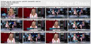 """ALEX WITT - """"MSNBC News Live"""" (June 6, 2009) - *legs*"""