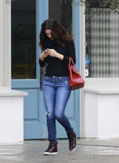 Emmy Rossum out in tight jeans in Los Angeles 12/07/13