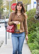 Джордана Брюстер, фото 1239. Jordana Brewster - booty in jeans leaving Lemonade in West Hollywood 02/29/12, foto 1239