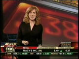 Liz Claman, Fox Business News - short skirt and sexy boots (1-21-09)