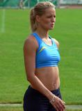 Sina Schelke Can't say that I know too much about this lady other than she is a German sprinter that runs the 200M and 400M and has one heck of a set of abs. Foto 47 (���� Schelke ������ �������, ��� � ������� ����� ���� �� ���� ���� ������, ��� ��� �������� �������� Sprinter, ������� ��������� 200M � 400 ������ � ����� ���� ������� ����� ABS. ���� 47)