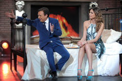 Мелисса Сатта, фото 359. Melissa Satta Chiambretti Sunday Show in Italy, 18.02.2012, foto 359