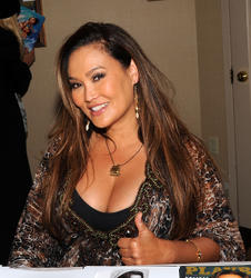 Tia Carrere - Cleavage Pic Attending Chiller Theater Expo in Parsippany (4/25/15)
