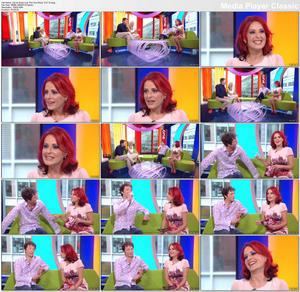 Carrie Grant | One Show 12-8-10 | Leggy/Uppie | HD 1080i