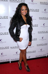 Christina Milian @ The Grand Opening Of Marquee Nightclub in Las Vegas - Dec. 30, 2010 (x4)